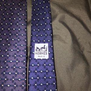 Hermes Accessories - Hermès Men's Tie